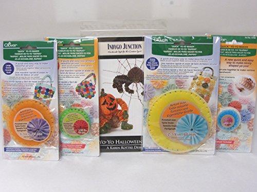 Yo-Yo Halloween Pattern and Yo-Yo Makers Bundle