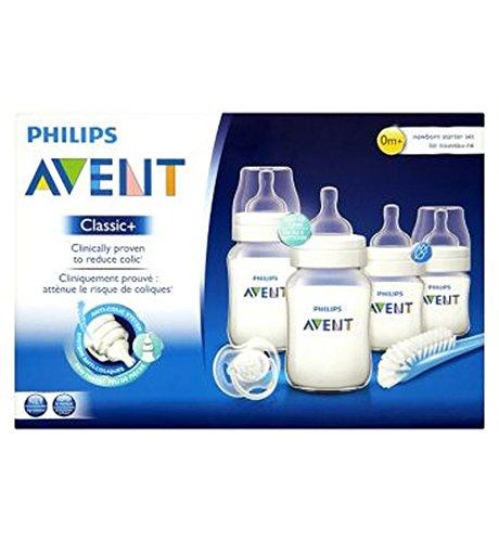 Philips Avent Clásico + Set De Iniciación Recién Nacido Anti-Cólico ...