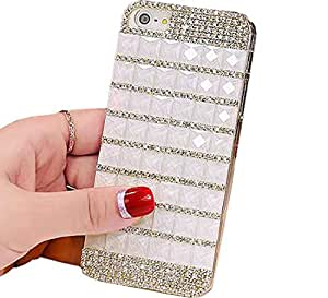 """New Simple Glitter Rhinestone Screen Protection Cover Case For Apple 5.5"""" iPhone 6 (Color5)"""