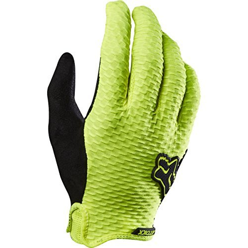 Fox Racing Attack Glove - Men's Flo Yellow, XXL (Cycling Gloves Attack)