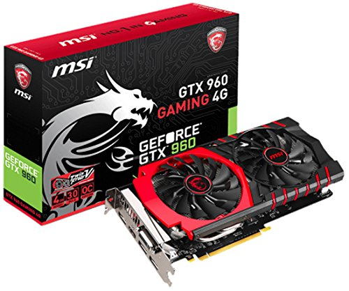 642 opinioni per MSI GTX 960 GAMING 4G NVIDIA GeForce GTX 960 4GB