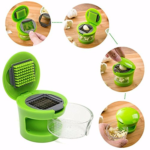 Mini Garlic Chopper Press Garlic Mincer Slicer Dicer Grater Kitchen Gadgets by Xiaolanwelc