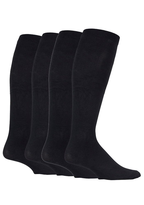 Mens sockshop BIGFOOT Flight 14-18mmHg Socks size 12-14 uk 47-50 eur Black