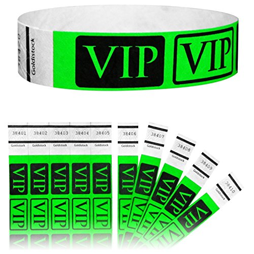 Goldistock Tyvek Wristbands Deluxe Green product image