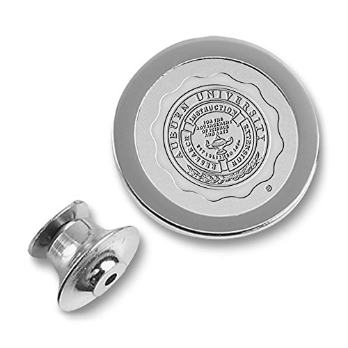 Auburn Tigers Lapel Pins (NCAA Auburn Tigers Adult Men Lapel Pin, One Size, Silver)
