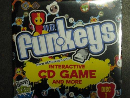 - U.B. Funkeys Interactive CD Game and More (Disc 1) Wendy's Kid's Meal