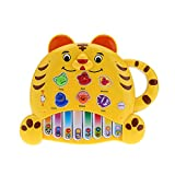 electone - Children's Educational Mini Piano Children Gift Baby Electone Music Toy Cartoon Tiger Toy Color Random Delivery