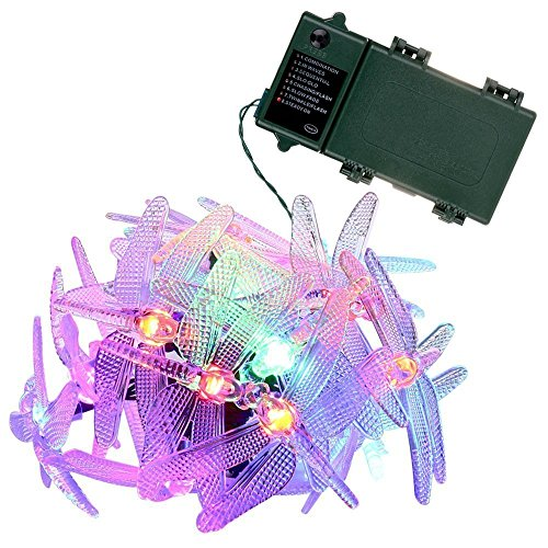 Dragonfly Outdoor String Lights in US - 9