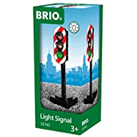 BRIO World - 33743 Light Signal   Toy Train Accessory for Kids Ages 3 and Up