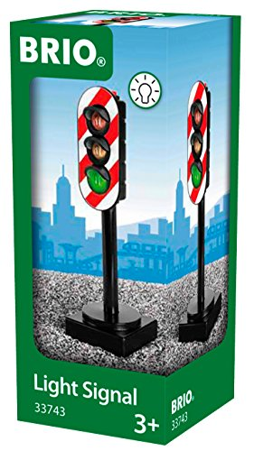 (BRIO World - 33743 Light Signal | Toy Train Accessory for Kids Ages 3 and Up)