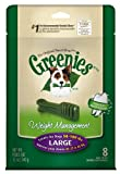 Greenies LITE Treat-Pak for Dogs, 12-Ounce, Large