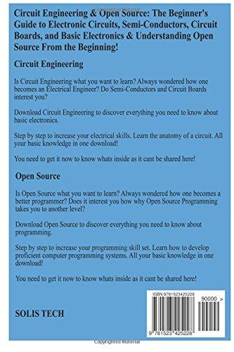 Circuit Engineering Open Source Solis Tech 9781523425228 Amazon