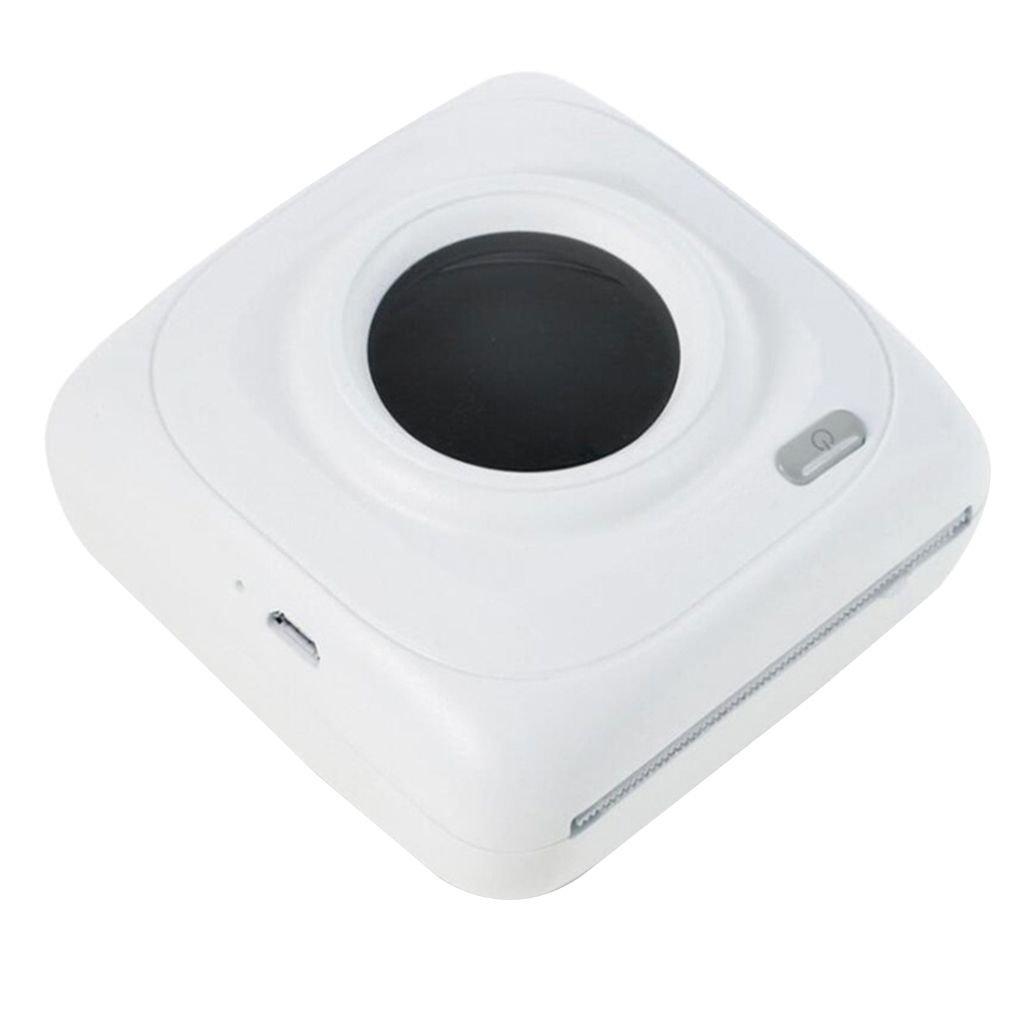P1 Mini Bluetooth 4.0 200 Ppp de la Impresora Té rmica de Interfaz USB de Bolsillo Portable de la Foto Impresora de Recibos Regard Regard Natral AmzRegard12412