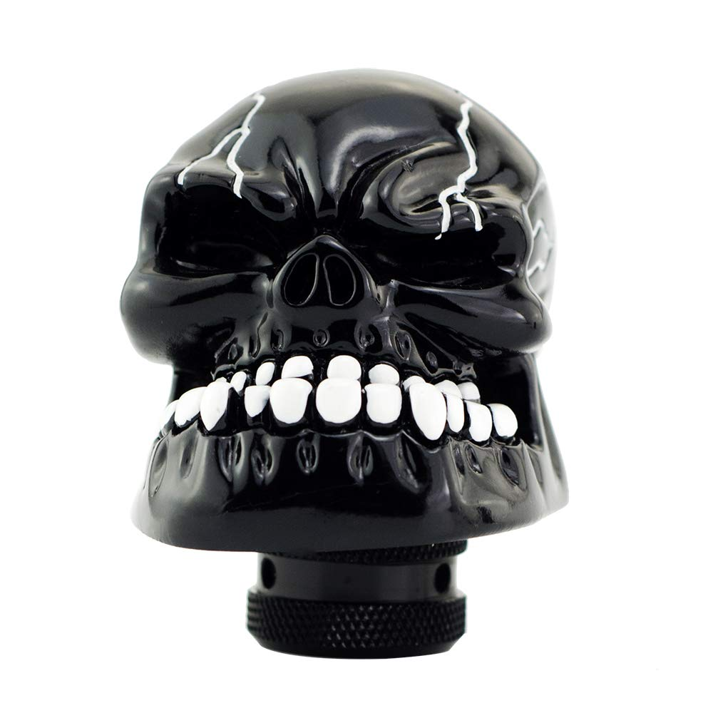 Mavota Blue Skull Manual Automatic Gear Shift Knobs