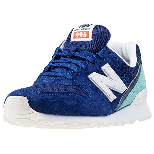 Türkis Laufschuhe Weiß Balance WR996 New Damen Blau wqxFRT0g