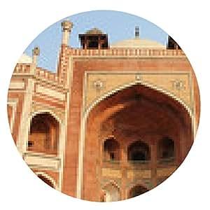 alfombrilla de ratón la tumba de Humayun, Delhi - ronda - 20cm