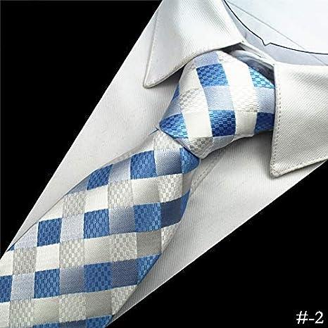 Txrh Corbatas Lazo for Hombre de la Seda de la Tela Escocesa de 8 ...