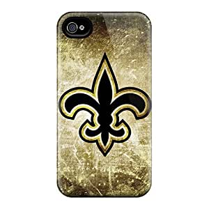 High Quality Luoxunmobile333 New Orleans Saints Rusty Look Skin Cases Covers Specially Designed For Case HTC One M7 Cover