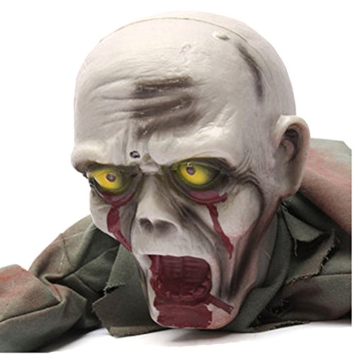 [Halloween Horror Crawling Zombie Bloody Haunted Animated Prop Decorations] (Animated Witch)