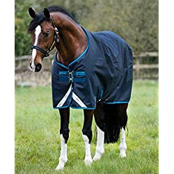 Horseware Amigo Bravo12 Turnout 100g 75 Navy/Blue