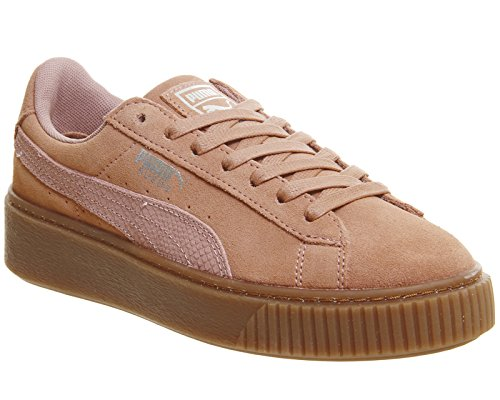 Puma Brown Platform Suede Animal Silver qrvFqZ