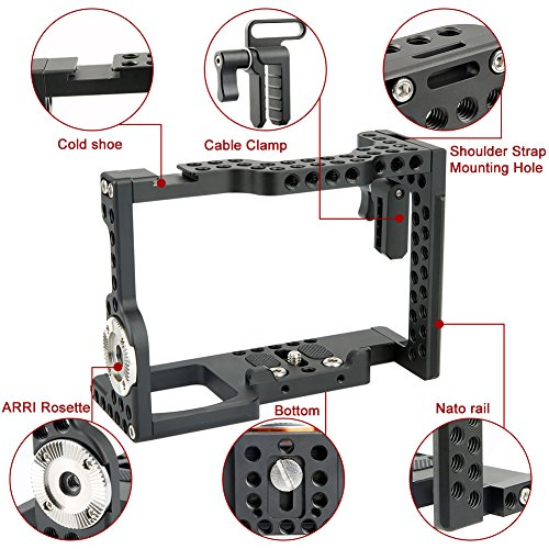 NICEYRIG A7RIII/A7II/A7RII/A7SII/A7MIII/A7III Camera Cage