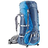 Deuter Aircontact 65 + 10 Pack Midnight / Ocean 65L Plus10L, Outdoor Stuffs