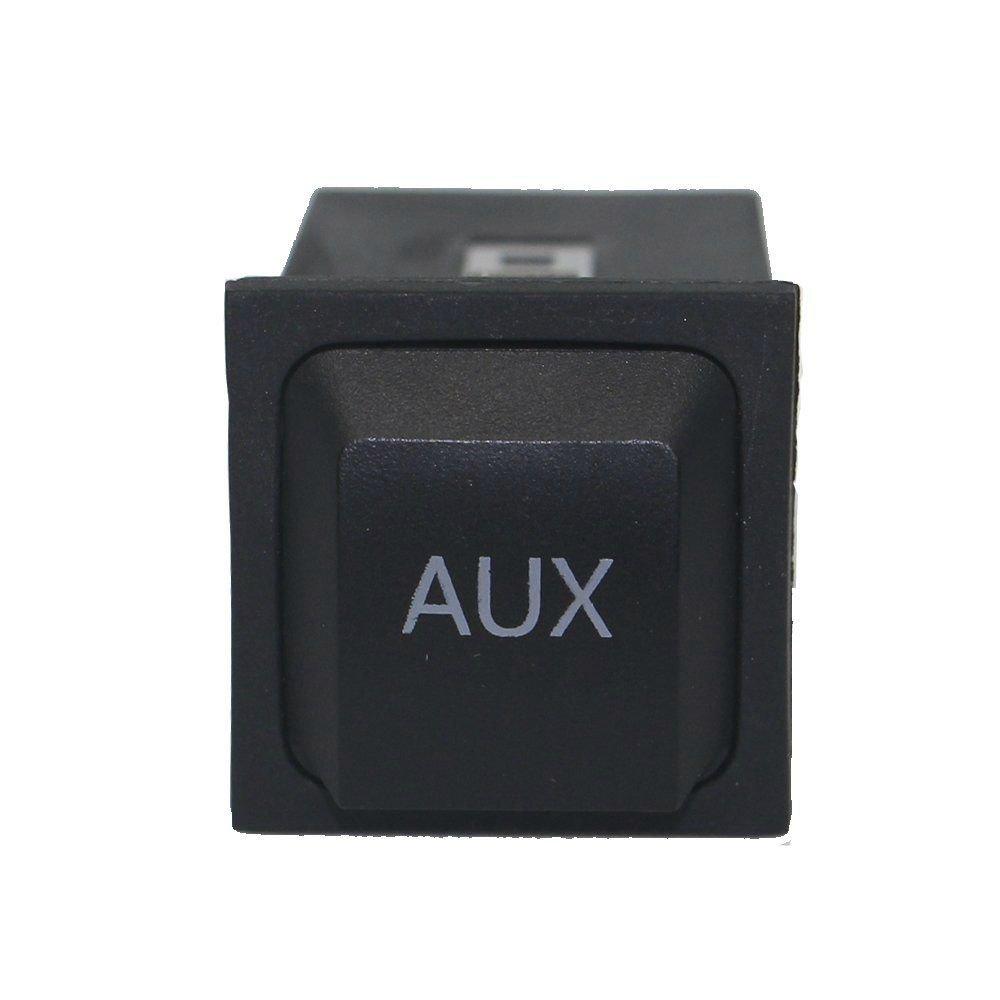 SODIAL Kit dadaptateur Audio AUX dentree de Navigation RNS-E de Voiture Prise 32 Broches Adapte a Audi A3 A4 A6 A8 R8 TT