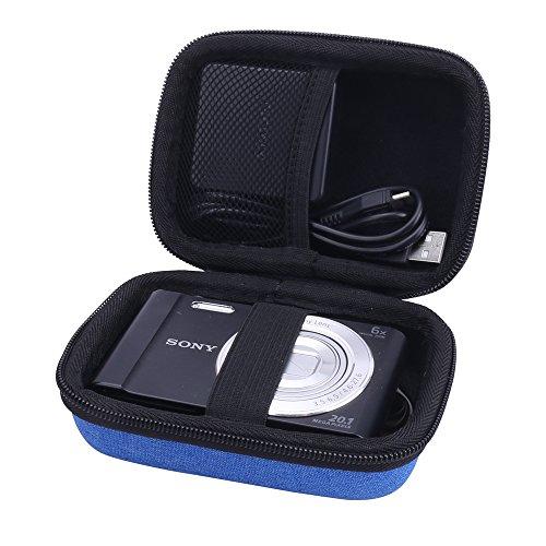 Hard Travel Case for Sony DSC-W830/W800/W810 Digital Camera by Aenllosi