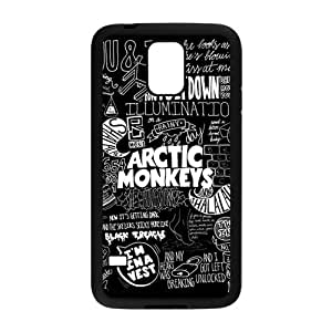 Fashion Arctic Monkeys Hard Snap-on Slim Back Cover Case for Samsung Galaxy S5 i9600 by mcsharks