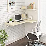 WLDD Wall-Mounted Folding Table Dining Table Drop Leaf Computer Desk Note Desk ( Color : B , Size : 100*60*40cm )