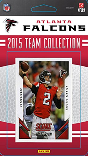 Atlanta Falcons 2015 Score Factory Sealed Complete Mint 14 Card Team Set Including Matt Ryan, Julio Jones, Rookie Cards Plus (Atlanta Falcons Mint Nfl Card)