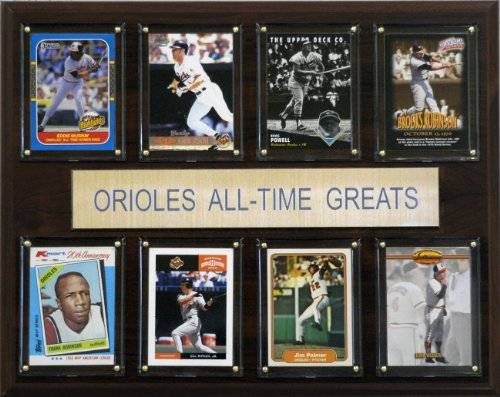 MLB Baltimore Orioles All-Time Greats Plaque (Mlb Baltimore Wall Orioles)
