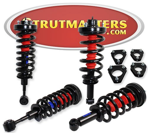 Strutmasters 4 Wheel Air Suspension Conversion Kit with Lift Kit for 2003-2006 Lincoln Navigator