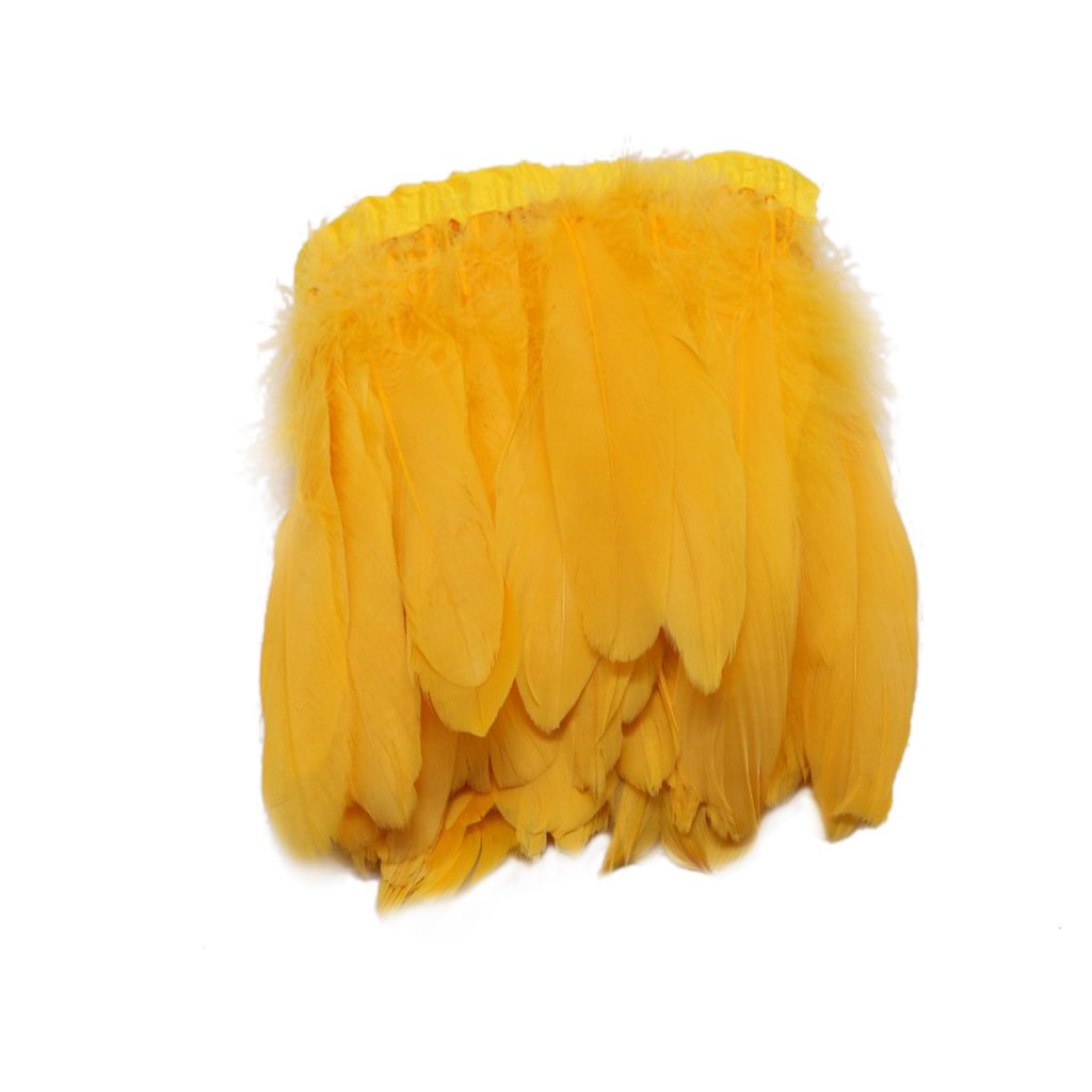 G/én/érique Plume doie D/écor V/êtement Chapeaux Costumes Bricolage Tricot Cosplay 15-20cm Rouge