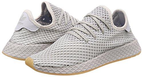 Deerupt Adidas Scarpe Ginnastica Bianco Uomo Runner grigio Da RdqZ8wd