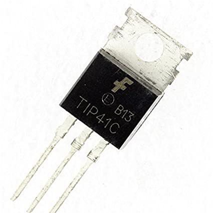 5PCS TO-220 ST IC COMPLEMENTARY SILICON POWER TRANSISTORS NEW TIP41C