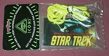 STAR TREK CHOOSE FROM TOS OR TNG PASS