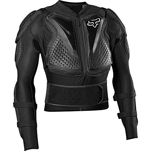 Fox Racing Titan Sport Jacket-Black-L (Best Mtb Body Armour 2019)
