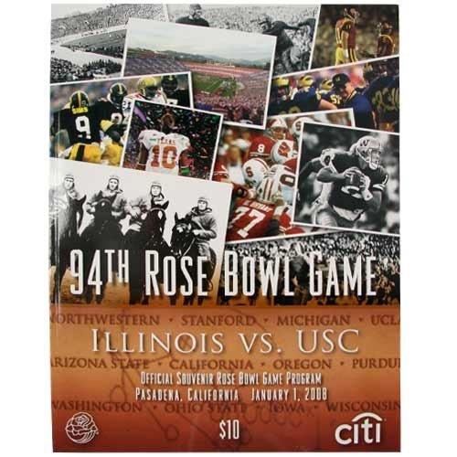 - NCAA 94th Rose Bowl Game Official Souvenir Program