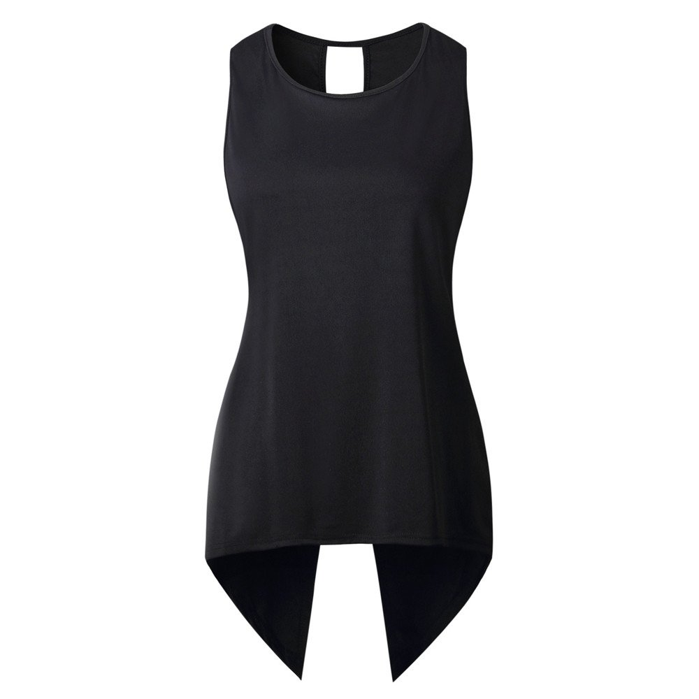 BXzhiri Sexy Vest for Women Back Sleeveless Blouse Ladies Strappy Camisole Tank Tops Cross Black by Bxzhiri_Women Tops (Image #3)