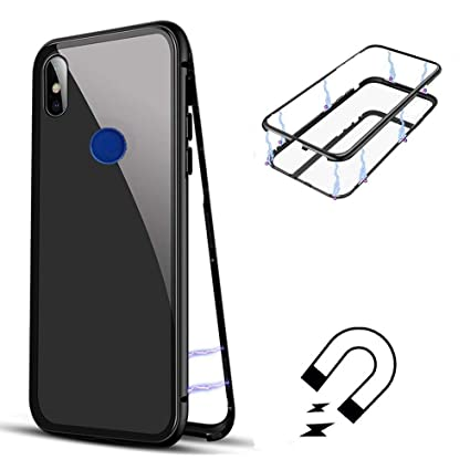 super popular 6dc58 9246d Amazon.com: Sycode Magnetic Case for Huawei Honor 8X,Magnet Cover ...