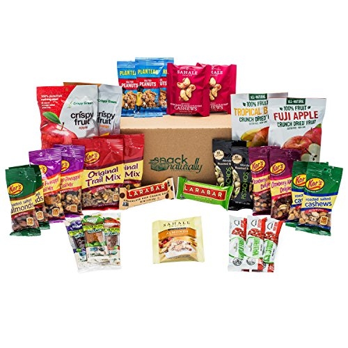 Healthy Snacks In-A-Box Fruit and Nut Variety Box by Snack Naturally