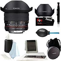 Rokinon 12mm F2.8 Ultra Wide Fisheye Lens 12M-N for Nikon DSLR Cameras - Full Frame Compatible & Lens Care Kit
