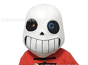 dhude Legendaria San Máscara Undertale Sans Juego Máscara Cosplay Máscara De Látex Máscara De Halloween Máscara para Hombres Máscara De Cabeza Un 2: Amazon.es: Juguetes y juegos