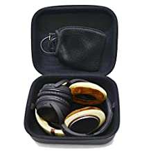 Nbbox Headphones Case For Audio-Technica ATH-PRO5MK2, ATH-PRO5V, ATH-PRO700MK2, ATH-M10, ATH-M20, ATH-M30, ATH-M35, ATH-M40 /Sennheiser HD485, HD465, HD205II /SONY MDR-7506, MDR-V6, MDR-CD900ST, MDR-1R /Beast Pro, Beats Studio, Diamond Tears, Executive /Ultrasone Edtion9, ED8, PRO900, PROline 650, PROline 750, PROline 2500, Hi-Fi 580, Hi-Fi 700, Hi-Fi 2400 /And many other headphones + Nbbox Flannel Bags and Nbbox Cleaning Brush