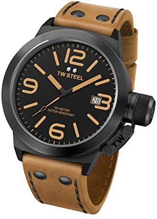 TW Steel Men s CS41 Analog Display Quartz Brown Watch