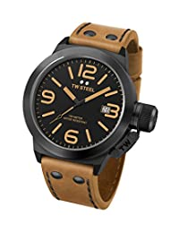 TW Steel Men's CS42 Analog Display Quartz Brown Watch