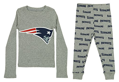 Outerstuff NFL Toddlers Pant and Long Sleeve Shirt Two-piece Set, New England Patriots, 3T