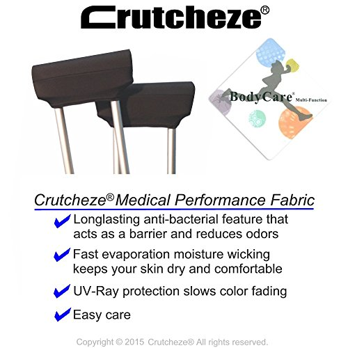 Костыли Crutcheze Black Underarm Crutch